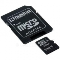 Карта памяти Kingston MicroSD 16 GB 4 Class