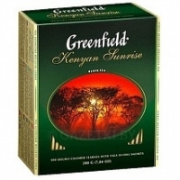 Чай черный GREENFIELD KENYAN SUNRISE 1 уп (100 шт х 2 г)