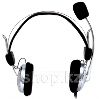 Гарнитура Manhattan Stereo Headset, Black-Silver