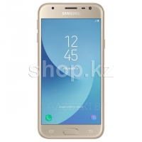 Смартфон Samsung Galaxy J3 (2017), 16Gb, Gold (SM-J330F)