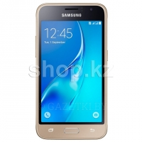 Смартфон Samsung Galaxy J1 (2016), 8Gb, Gold (SM-J120F)