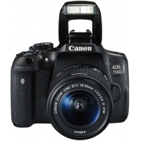 Фотоаппарат Canon EOS 750D(W) EF-S 18-55 IS STM kit Black