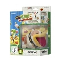 Poochy & Yoshi's Woolly World 3DS с фигурками