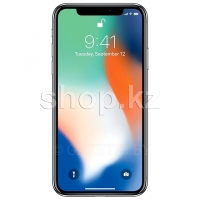 Смартфон Apple iPhone X, 256Gb, Silver