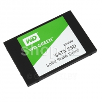 SSD накопитель 120 Gb Western Digital Green (WDS120G2G0A), 2.5