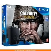 Игровая консоль Sony PlayStation 4 Slim 1TB, Black + COD (CUH-2108B/COD WWII/THY)