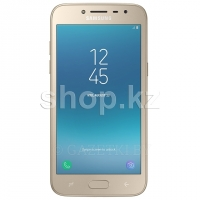 Смартфон Samsung Galaxy J2 (2018), 16Gb, Gold (SM-J250F)