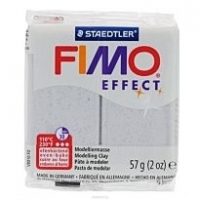 Staedtler Fimo effect (масса для лепки) silver pearl 57 гр