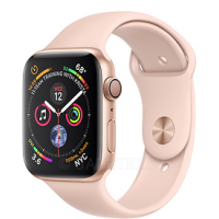 40mm Gold Aluminium Case with Pink Sand Sport Band