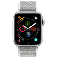 Смарт часы APPLE Watch Series 4 GPS 40mm Silver Aluminium Case with Seashell Sport Loop (MU652GK/A)