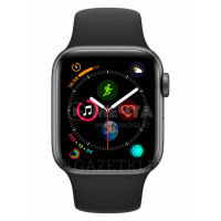 Смарт часы APPLE Watch Series 4 GPS 40mm Space Grey Aluminium Case with Black Sport Band (MU662GK/A)