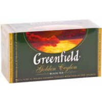 Чай черный GOLDEN CEYLON GREENFIELD 1 уп(25 шт х 2г)