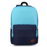 "Рюкзак для ноутбука 15.6"" Miracase Back to School, Blue, полиэстер (NB-8139BL)"