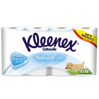 Бумага KLEENEX Natural care туалетная пак 8 рул