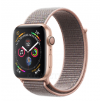 Смарт-часы Apple Watch Series 4 GPS 40mm Gold Aluminium Case with Pink Sand Sport Loop Model A1977 (MU692GK/A)