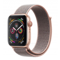 Смарт-часы Apple Watch Series 4 GPS 44mm Gold Aluminium Case with Pink Sand Sport Loop Model A1978 MU6G2GK/A