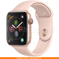 Apple Watch Series 4 GPS 44mm Gold Aluminium Case with Pink Sand Sport Band (MU6F2)