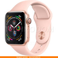 Apple Watch Series 4 GPS 40mm Gold Aluminium Case with Pink Sand Sport Band (MU682UA/A)