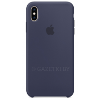 Чехол для iPhone XS Max Silicone Case MRWG2ZM/A темно-синий