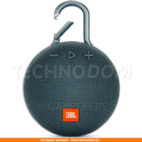 Колонки Bluetooth JBL Clip 3, Blue (JBLCLIP3BLUEU)