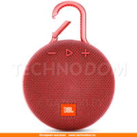 Колонки Bluetooth JBL Clip 3, Red (JBLCLIP3RED)