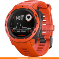 Garmin Smart Watch Instinct Flame Red (010-02064-02)