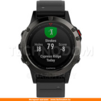 Смарт-часы Garmin Fenix 5 Slate Grey with Black Band