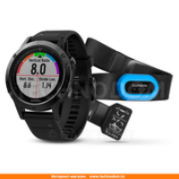 Смарт-часы Garmin Fenix 5 Sapphire Performer Bundle Black with Black Band