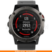 Смарт-часы Garmin Fenix 5X Sapphire Slate Grey with Black Band