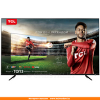 "Телевизор TCL 50"" L50P6US LED UHD Smart Black"