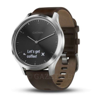 Смарт-часы Garmin vivomove HR Premium (Black-Silver) 010-01850-24
