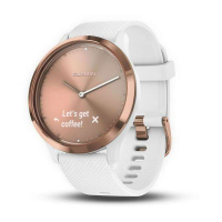 Смарт-часы Garmin vivomove HR sport (Rose Gold-White) 010-01850-22
